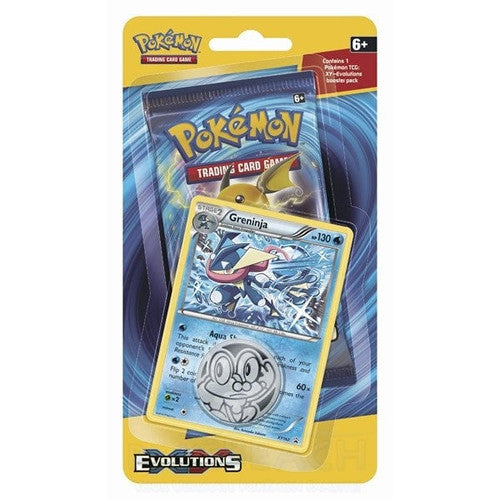Pokemon Xy #12 Evolutions Checklane Blister Pack - Trading Cards