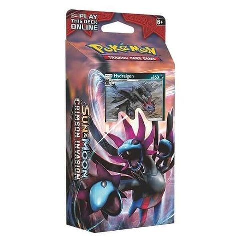 Sun & Moon Crimson Invasion Destruction Fang Theme Deck