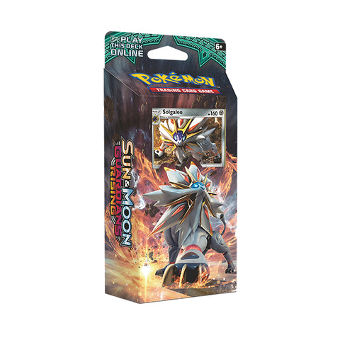 Sun & Moon Guardians Rising Solgaleo Theme Deck