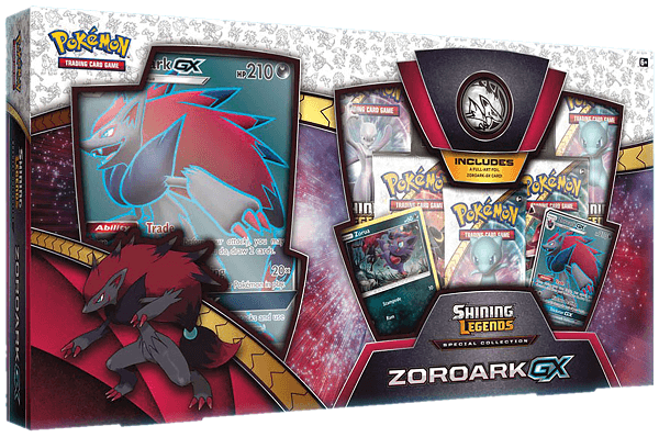 Shining Legends Zoroark GX Special Collection