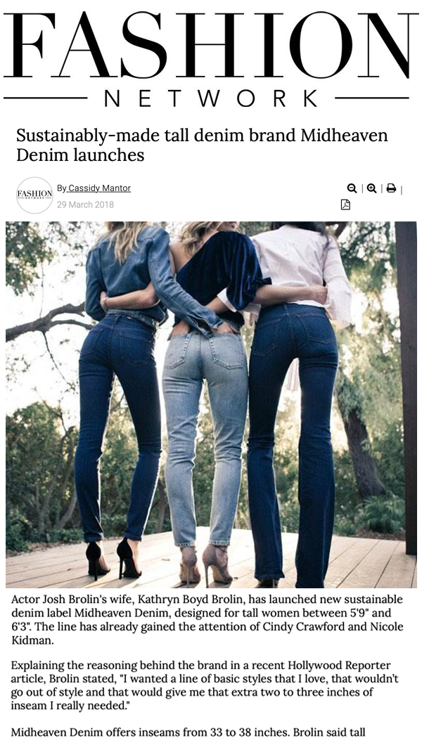d5b6881b69ef Sustainably-made tall denim brand Midheaven Denim launches