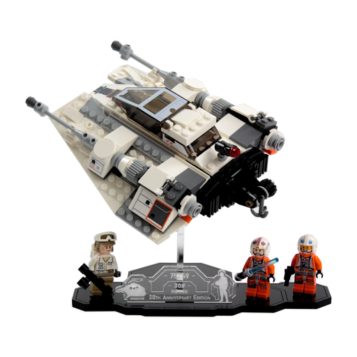 Display stands for LEGO Star Wars: 20th Anniversary Snowspeeder (75259)
