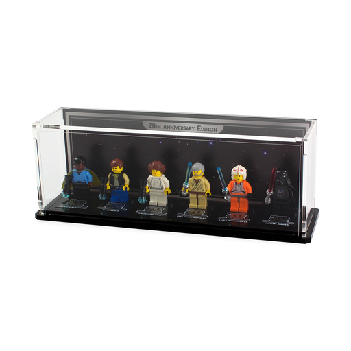 Display cases for LEGO Star Wars: 20th Anniversary Minifigures - Wicked Brick