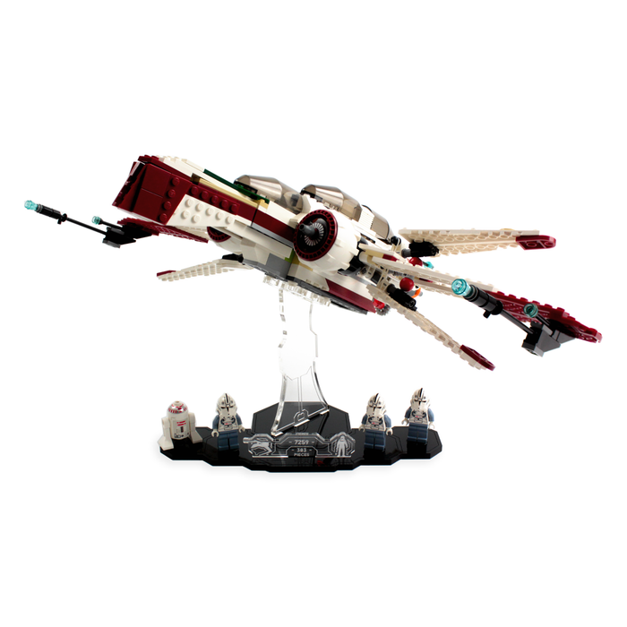 Display solutions for LEGO Star Wars: Arc-170 Starfighter (7259) - Wicked Brick