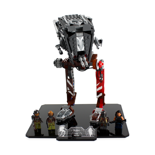 Display stand for LEGO Star Wars: AT-ST Raider (75254) - Wicked Brick