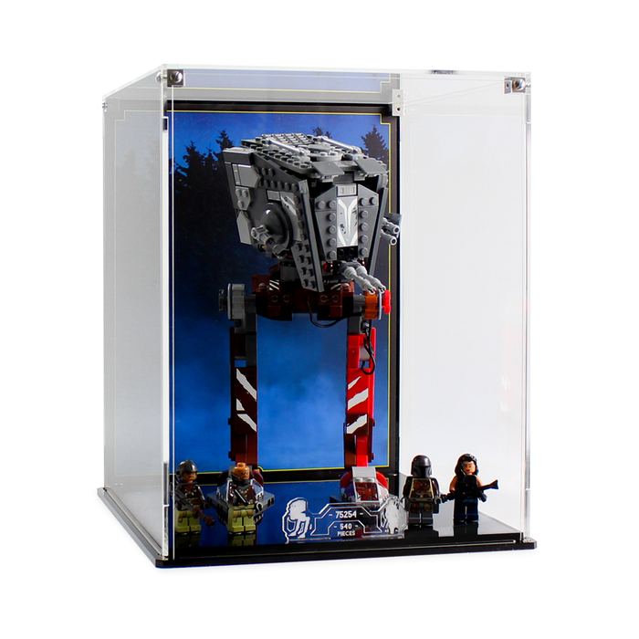 Display case for LEGO Star Wars: AT-ST Raider (75254) - Wicked Brick