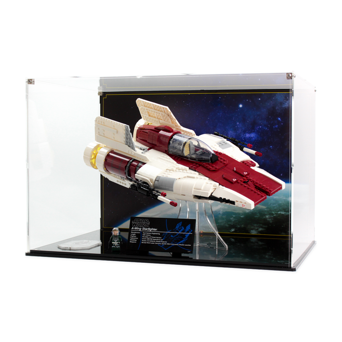 Display case for LEGO Star Wars: UCS A-Wing (75275)