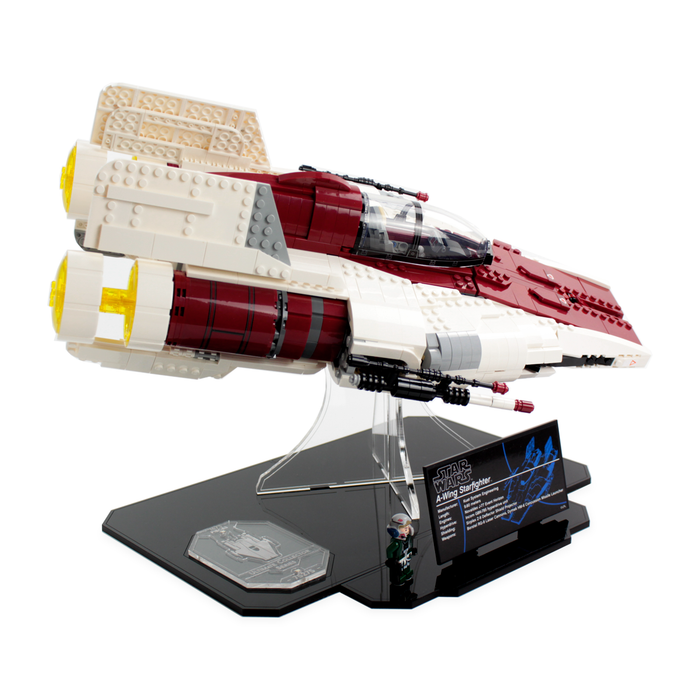Display stand for LEGO Star Wars: UCS A-Wing (75275)