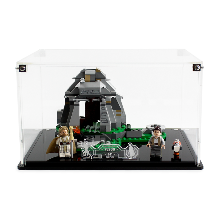 Display solutions for LEGO Star Wars: Ahch-To Island Training (75200) - Wicked Brick