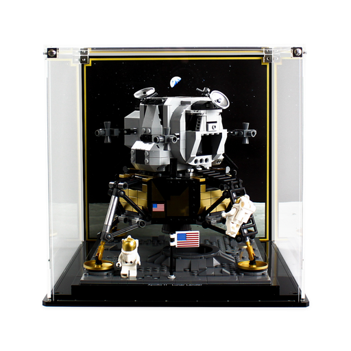 Display case for LEGO creator: Lunar Lander (10266) - Wicked Brick