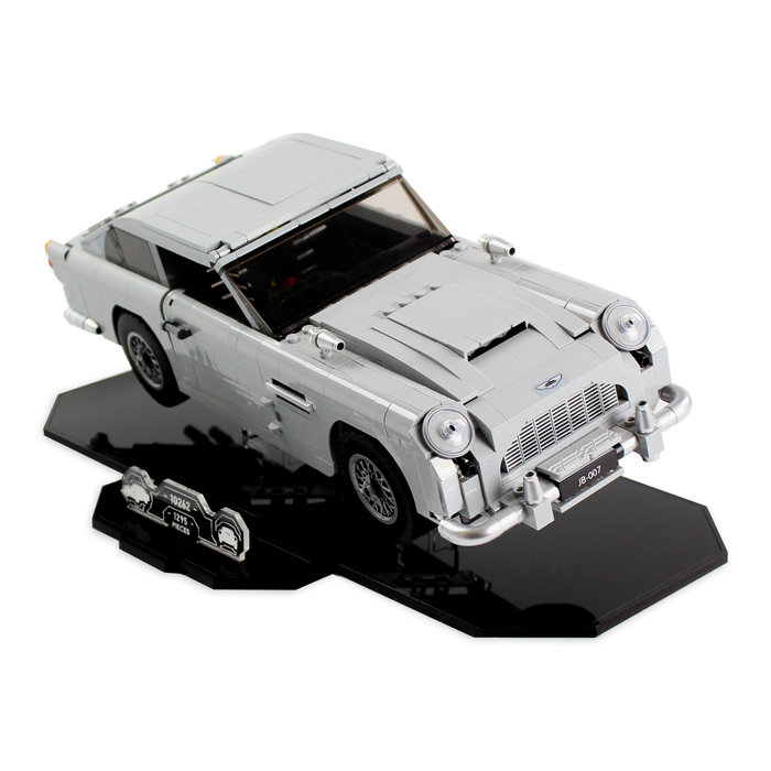 Display stands for LEGO Creator: Aston Martin DB5 (10262) - Wicked Brick