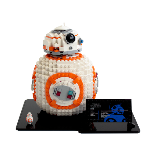 Display base for LEGO Star Wars: BB-8 (75187) - Wicked Brick