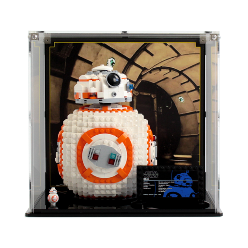 Display case for LEGO Star Wars: BB-8 (75187) - Wicked Brick