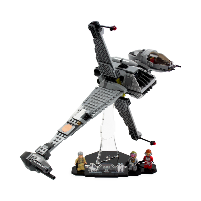 Display solutions for LEGO Star Wars: B-Wing (75050) - Wicked Brick