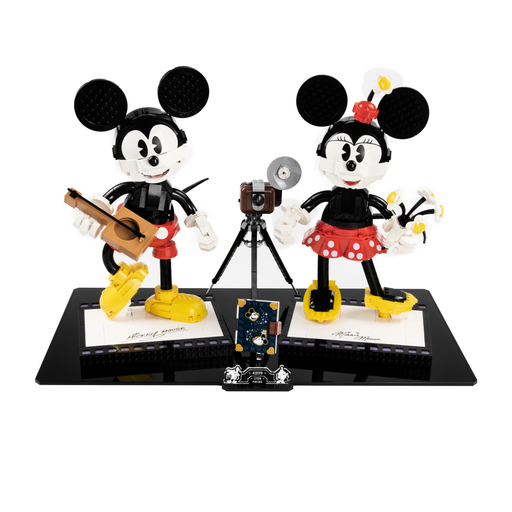 Display base for LEGO: Mickey Mouse & Minnie Mouse (43179)