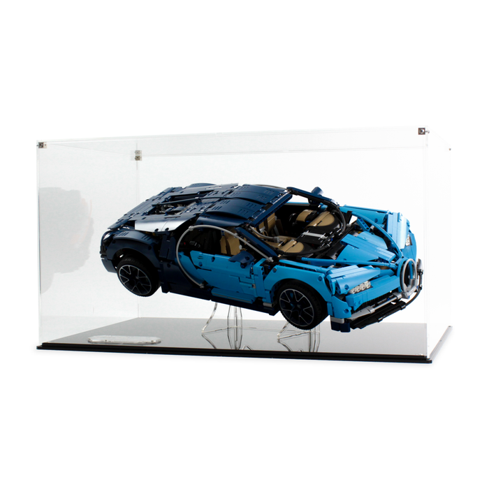 Display case for LEGO Technic: Bugatti Chiron (42083) - Wicked Brick