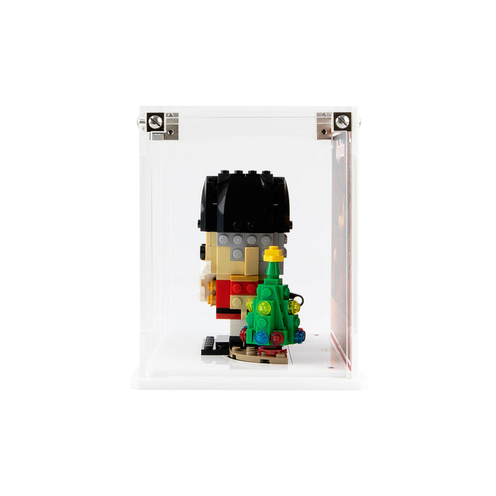 Limited Edition display case for LEGO Brickheadz: Nutcracker (40425)