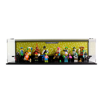 Display case for LEGO Collectable Minifigure Series