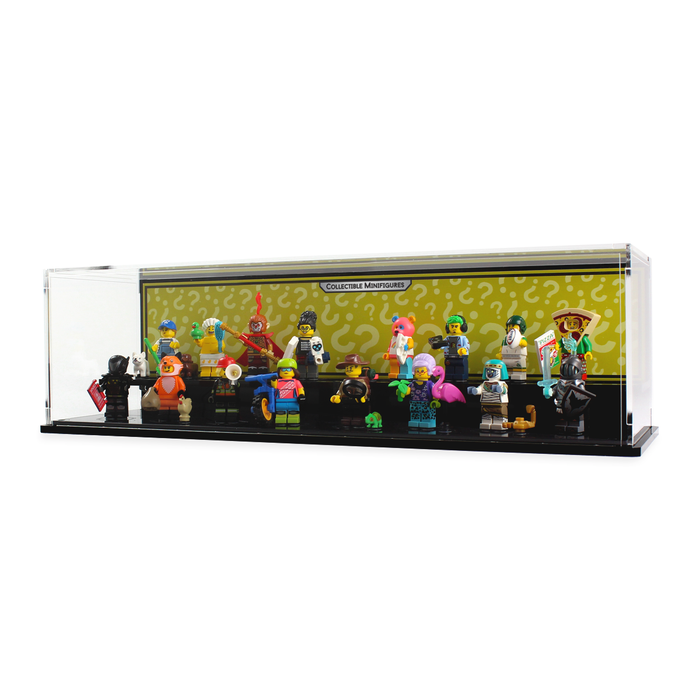 Display cases for LEGO: Collectable Minifigure Series 1-19 - Wicked Brick