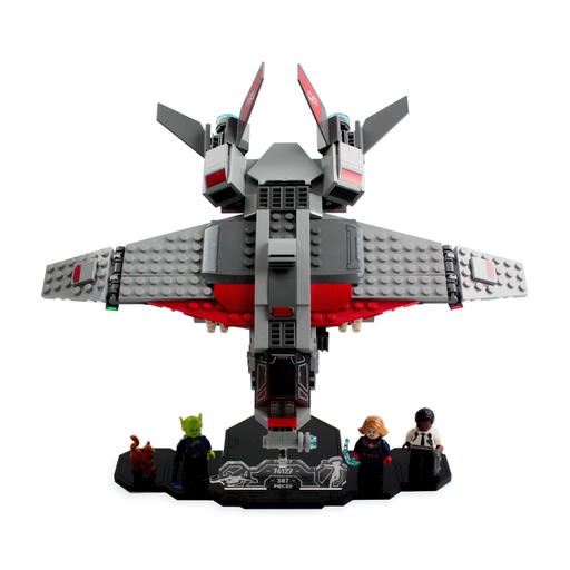 Display solutions for LEGO Marvel: Captain Marvel and the Skrull Attack (76127) - Wicked Brick