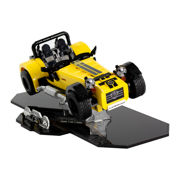 Display stand for LEGO Ideas: Caterham (21307) - Wicked Brick