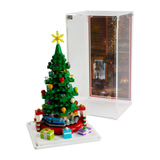 Limited Edition Christmas display case for LEGO VIP Christmas Tree (40338)