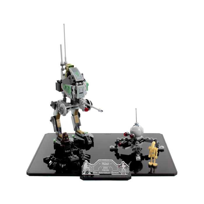 Display solutions for LEGO Star Wars: Clone Walker (75261)