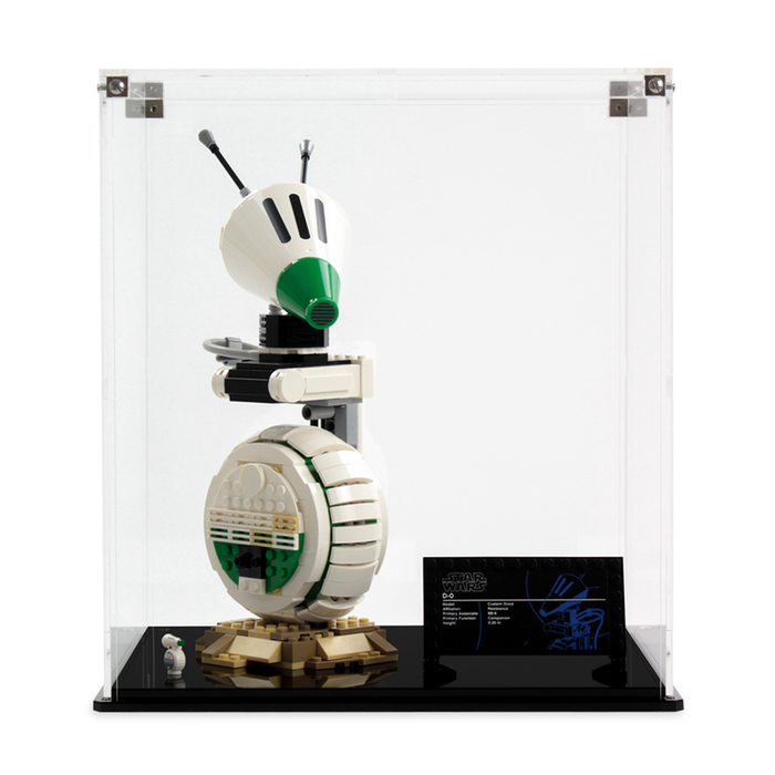 Display case for LEGO Star Wars: D-O (75278)