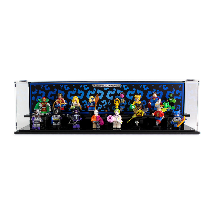 Display case for LEGO: DC Collectable Minifigure Series (71026) - Wicked Brick