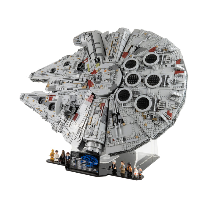 Display stands for LEGO Star Wars: Millennium Falcon (75192 & 10179)