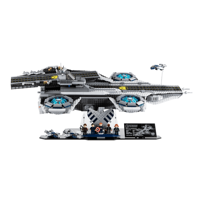 Display stand for LEGO Marvel: The Shield Helicarrier (76042)