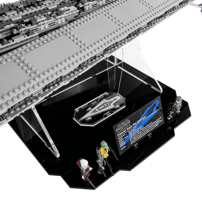 Display stand for LEGO Star Wars: Super Star Destroyer (10221)