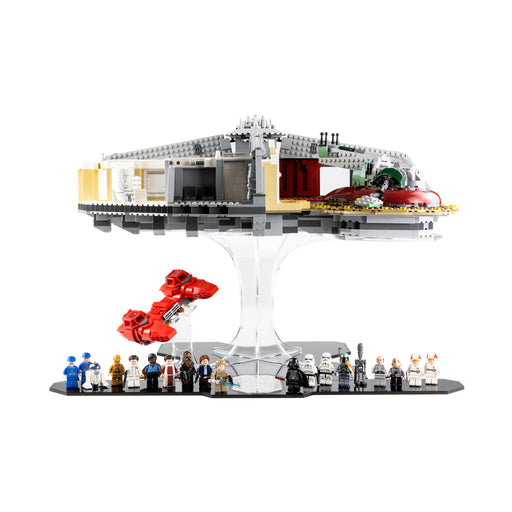 Display stand for LEGO Star Wars: Betrayal at Cloud City (75222)