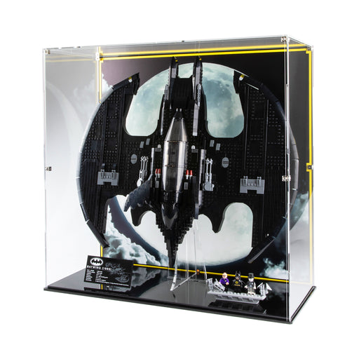 Display cases for LEGO Batman: 1989 Batwing (76161)