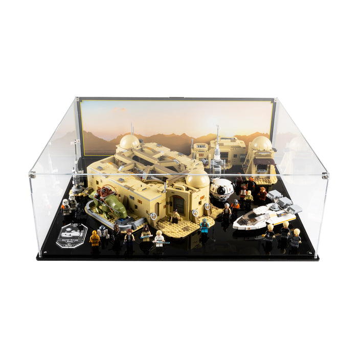 Display case for LEGO Star Wars: Mos Eisley Cantina (75290)