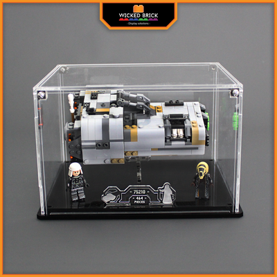 Display case for LEGO Star Wars: Moloch's Landspeeder (75210) - Wicked Brick