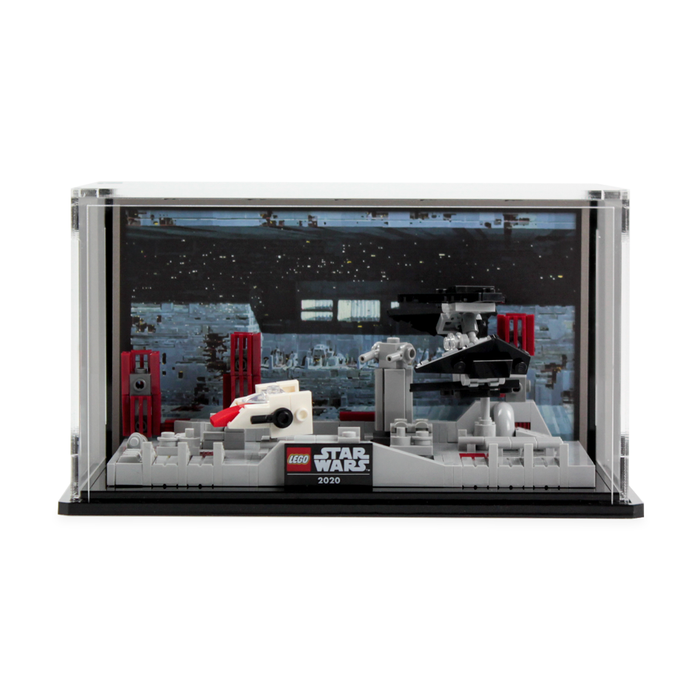 Display case for LEGO Star Wars: Death Star II Battle (40407)