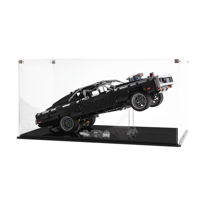 Display case for LEGO Technic: Dom's Dodge Charger (42111)