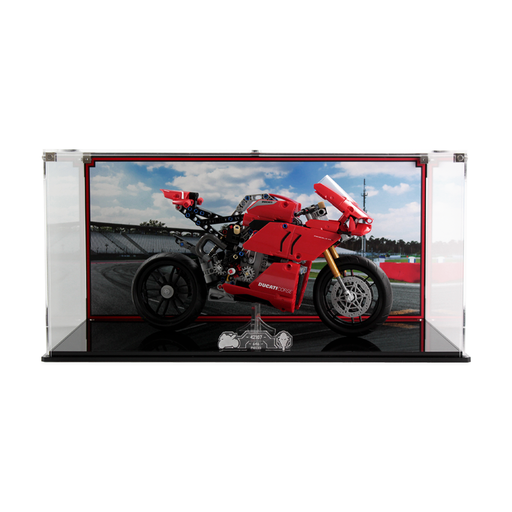 Display case for LEGO Technic: Ducati Panigale V4 R (42107)