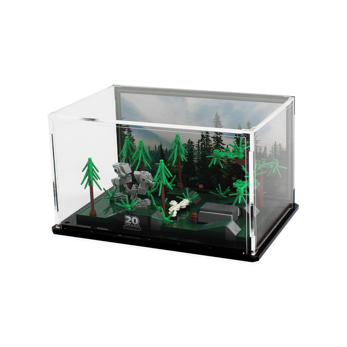 Display case for LEGO Star Wars: Battle of Endor 20th Anniversary Edition (40362) - Wicked Brick