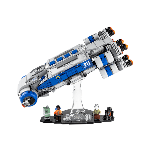 Display stand for LEGO Star Wars: Resistance I-TS Transport (75293)