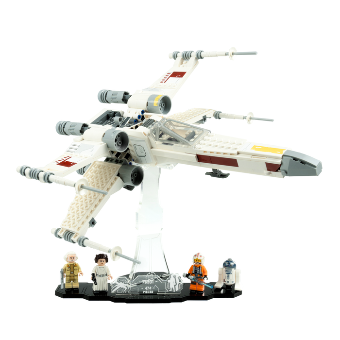 Display stands for LEGO Star Wars: Luke Skywalker's X-Wing Fighter (75301)