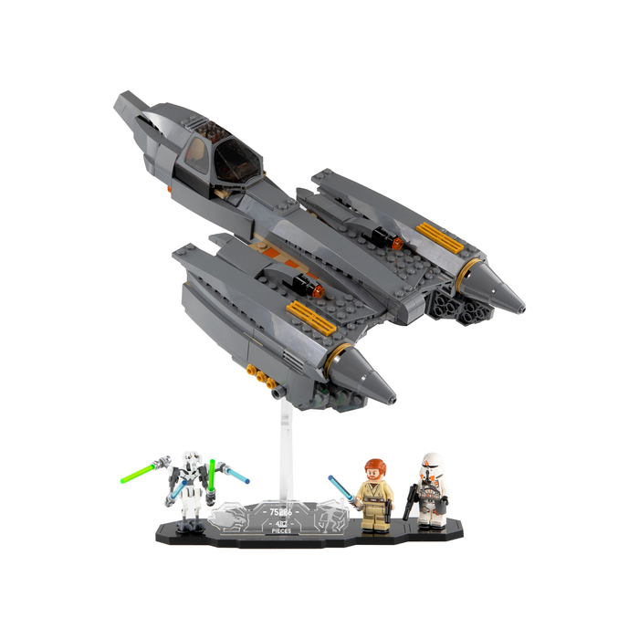 Display stand for LEGO Star Wars: General Grievous's Starfighter (75286)