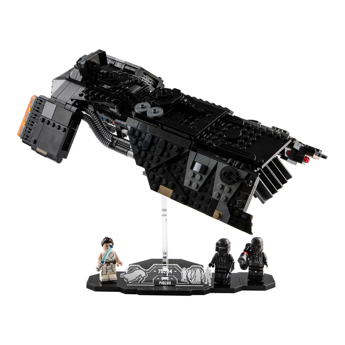Display stand for LEGO Star Wars: Knights of Ren Transport Ship (75284)