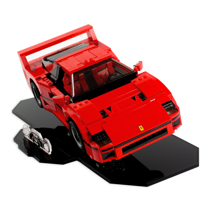 Display stand for LEGO Creator: Ferrari F40 (10248) - Wicked Brick