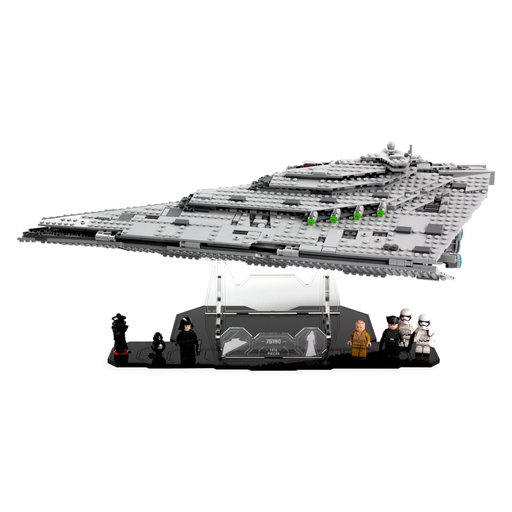 Display solutions for LEGO Star Wars: First Order Star Destroyer (75190) - Wicked Brick