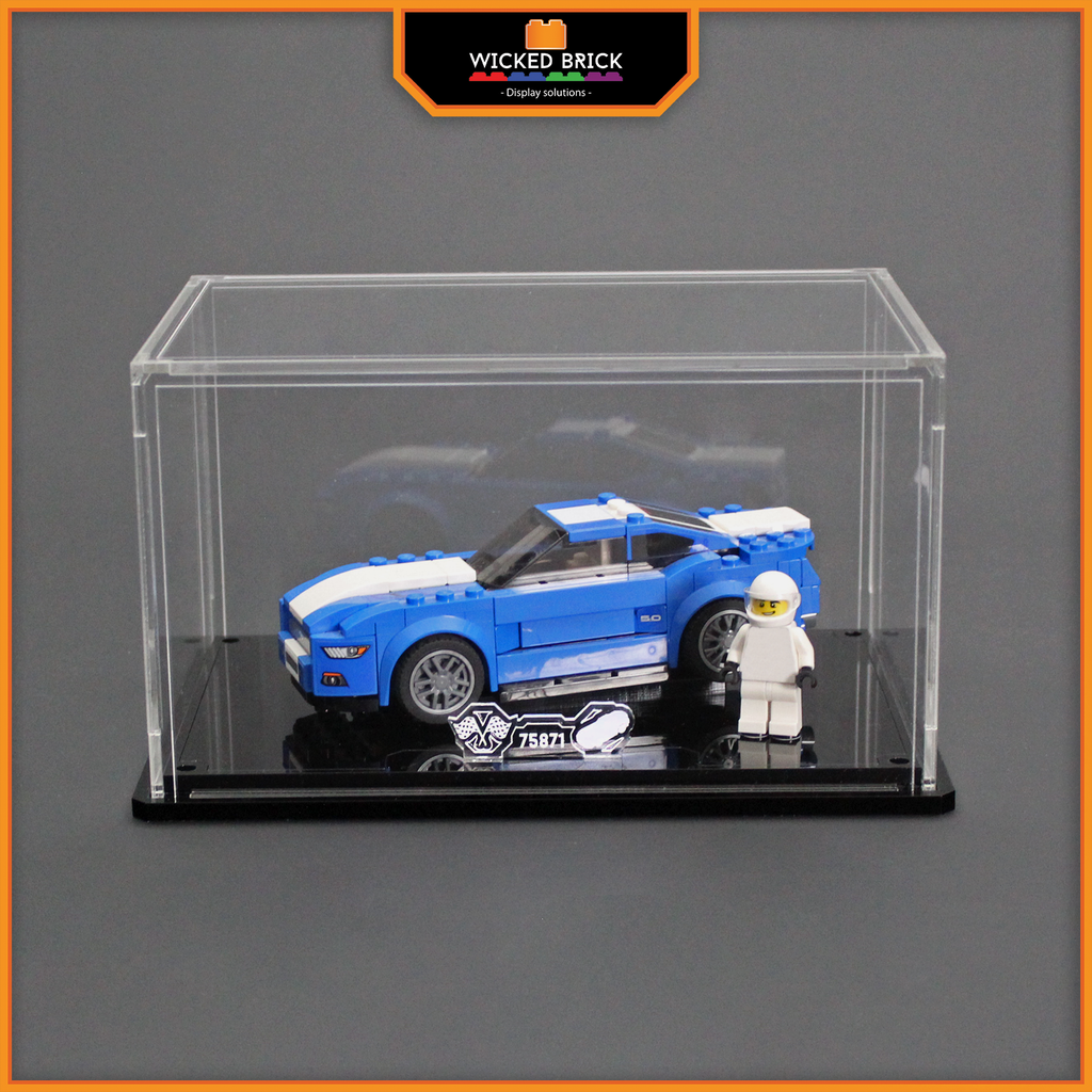 Display solutions for LEGO Speed Champions: Ford Mustang GT (75871) - Wicked Brick