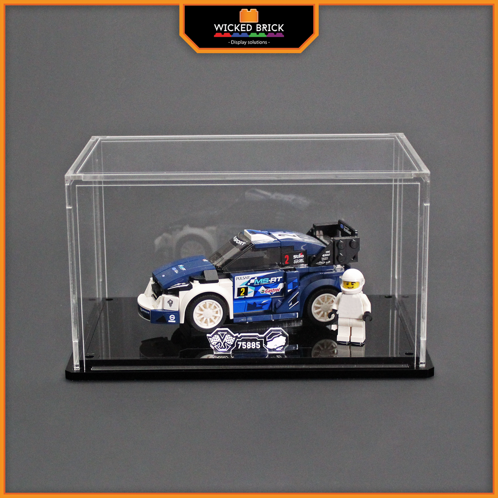 Display solutions for LEGO Speed Champions: Fiesta M-Sport (75885) - Wicked Brick