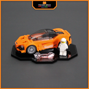 Display solutions for LEGO Speed Champions: McLaren 720s (75880) - Wicked Brick