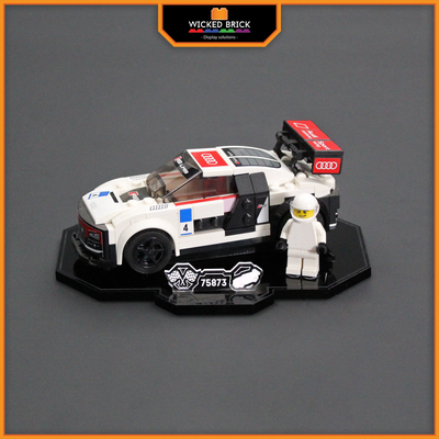 Display solutions for LEGO Speed Champions: Audi R8 LMS Ultra (75873) - Wicked Brick